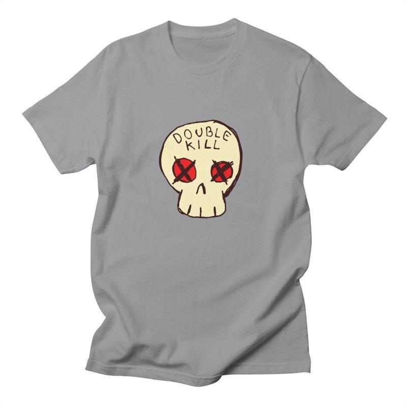 Double Kill Men's T-Shirt by alexcortez's Artist Shop