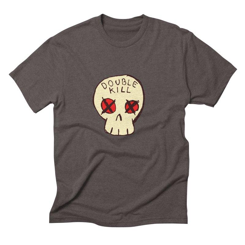 Double Kill Men's Triblend T-Shirt by alexcortez's Artist Shop