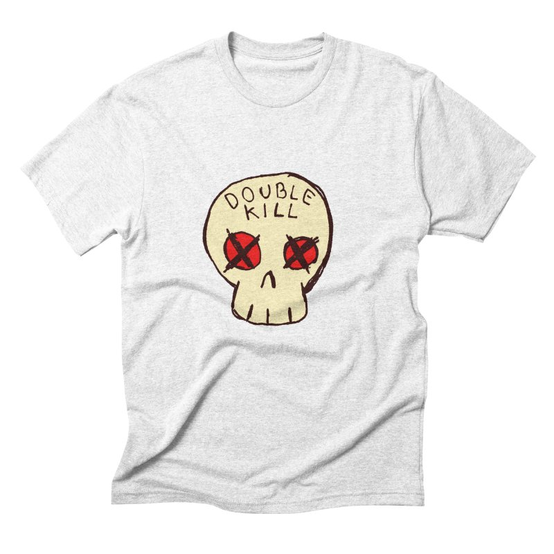 Double Kill Men's Triblend T-shirt by alexcortez's Artist Shop