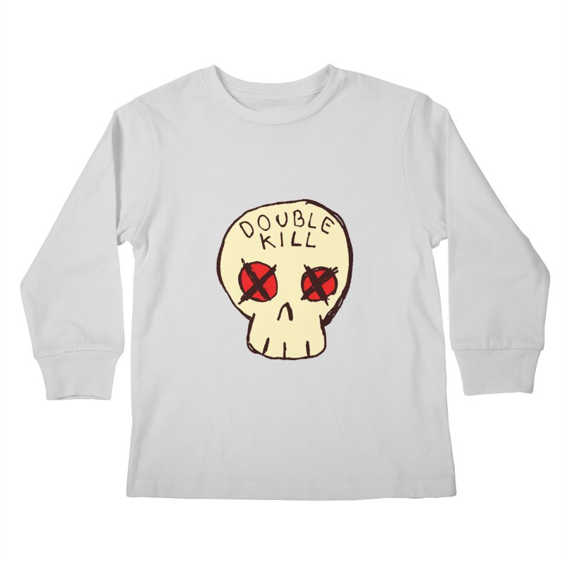 Double Kill Kids Longsleeve T-Shirt by alexcortez's Artist Shop