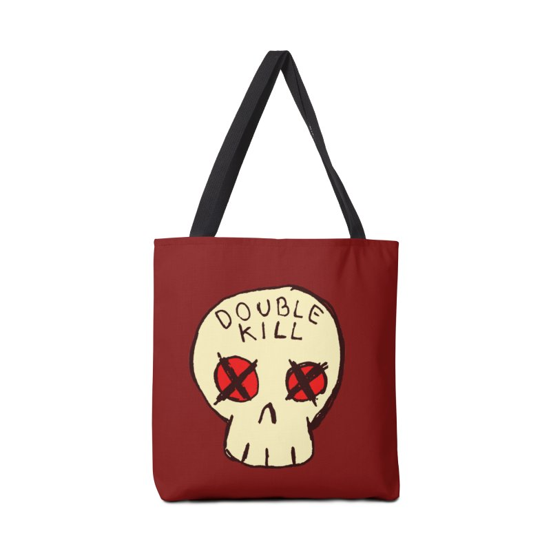Double Kill Accessories Bag by alexcortez's Artist Shop