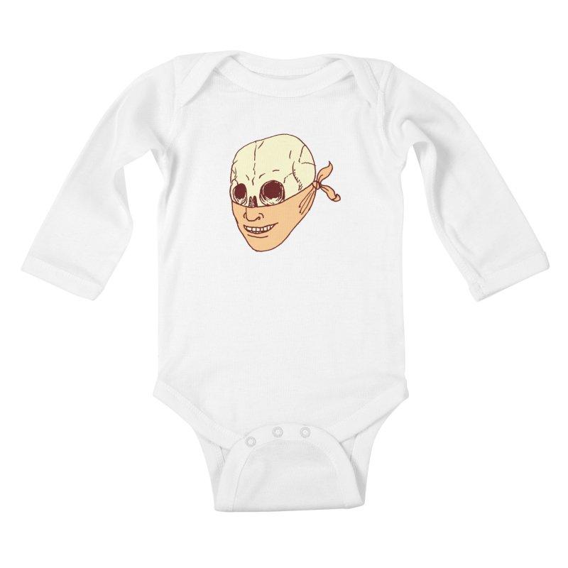 Disguise Kids Baby Longsleeve Bodysuit by alexcortez's Artist Shop