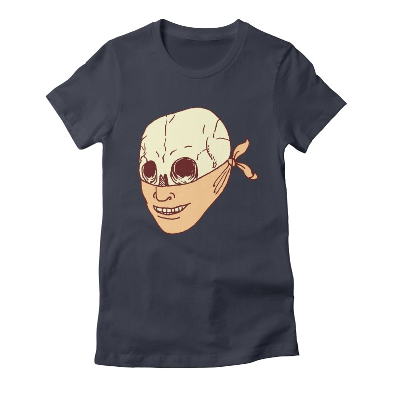 Disguise Women's Fitted T-Shirt by alexcortez's Artist Shop