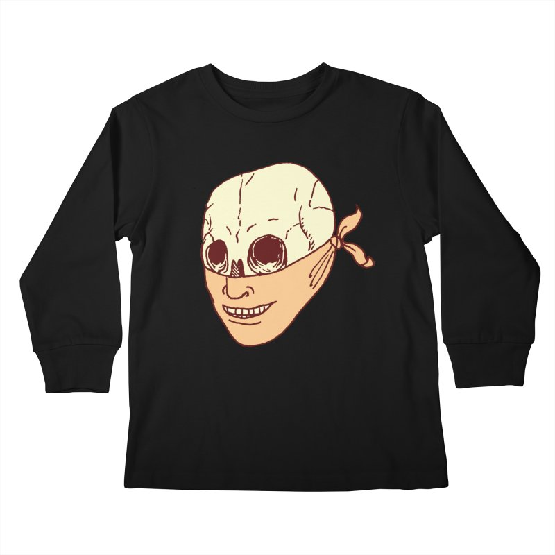 Disguise Kids Longsleeve T-Shirt by alexcortez's Artist Shop
