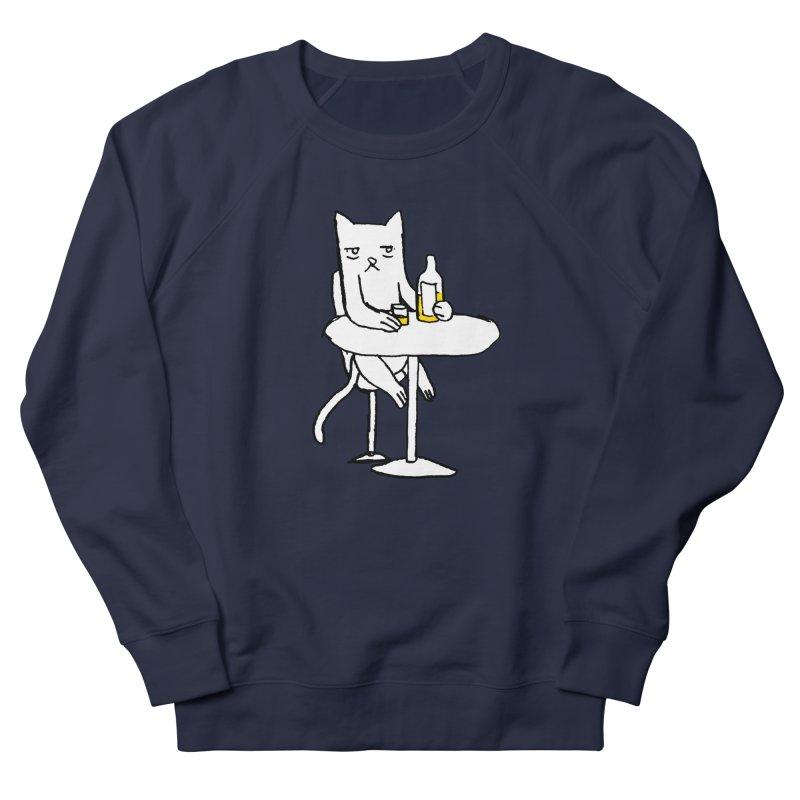 Drunk cat Women's Sweatshirt by alexcortez's Artist Shop