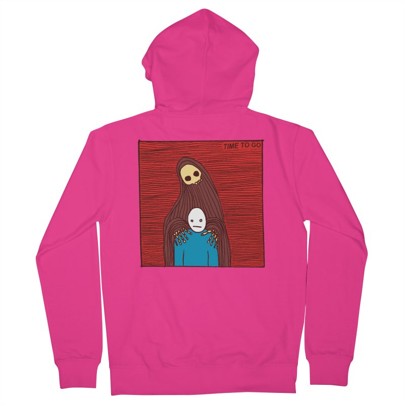 Time to go Men's Zip-Up Hoody by alexcortez's Artist Shop