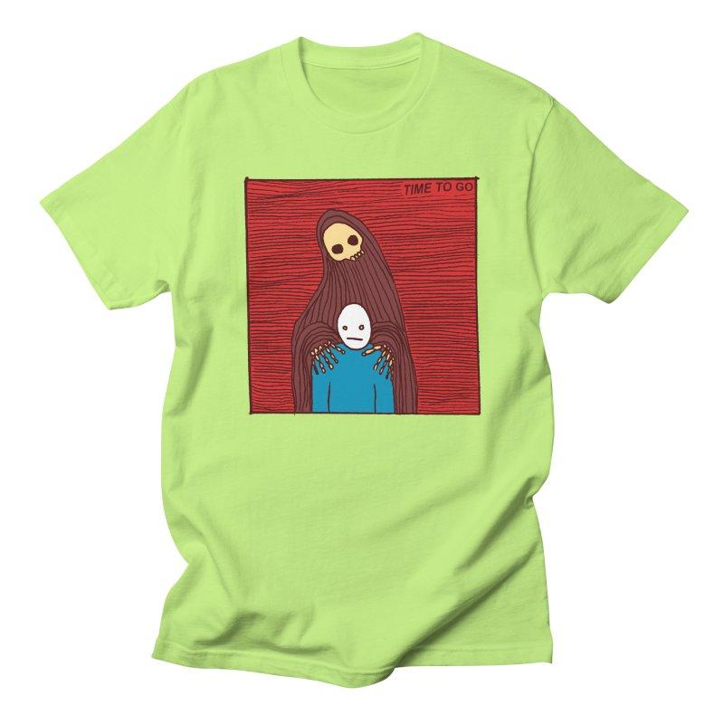 Time to go Men's T-shirt by alexcortez's Artist Shop