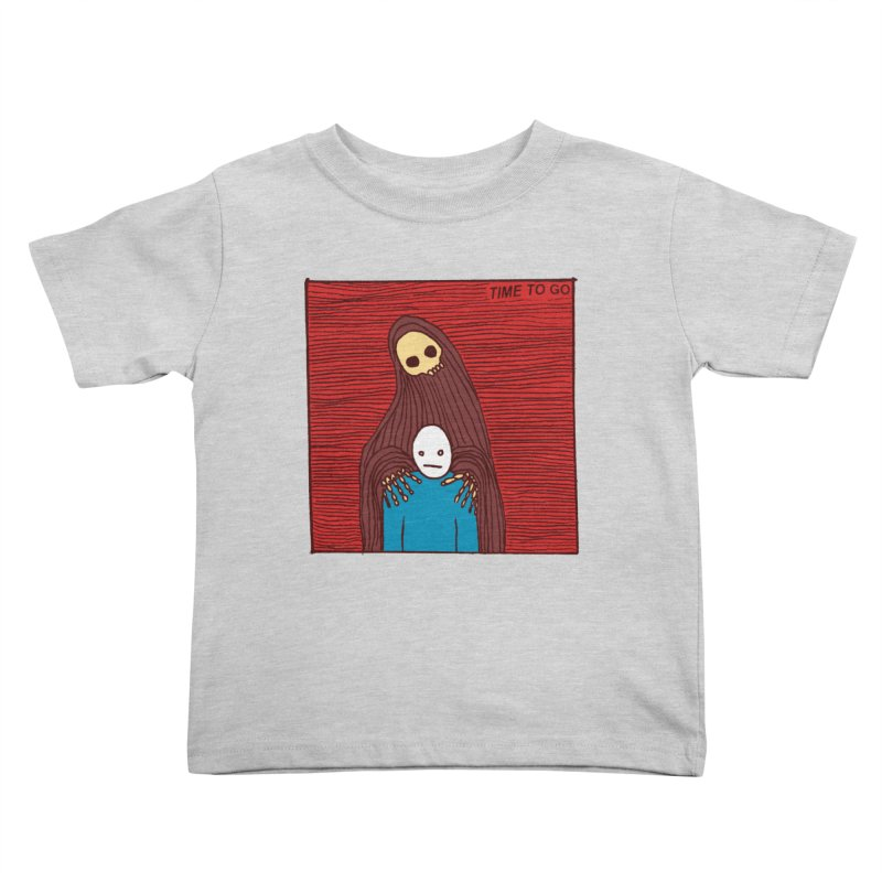 Time to go Kids Toddler T-Shirt by alexcortez's Artist Shop