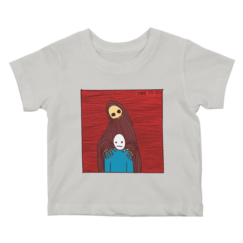 Time to go Kids Baby T-Shirt by alexcortez's Artist Shop
