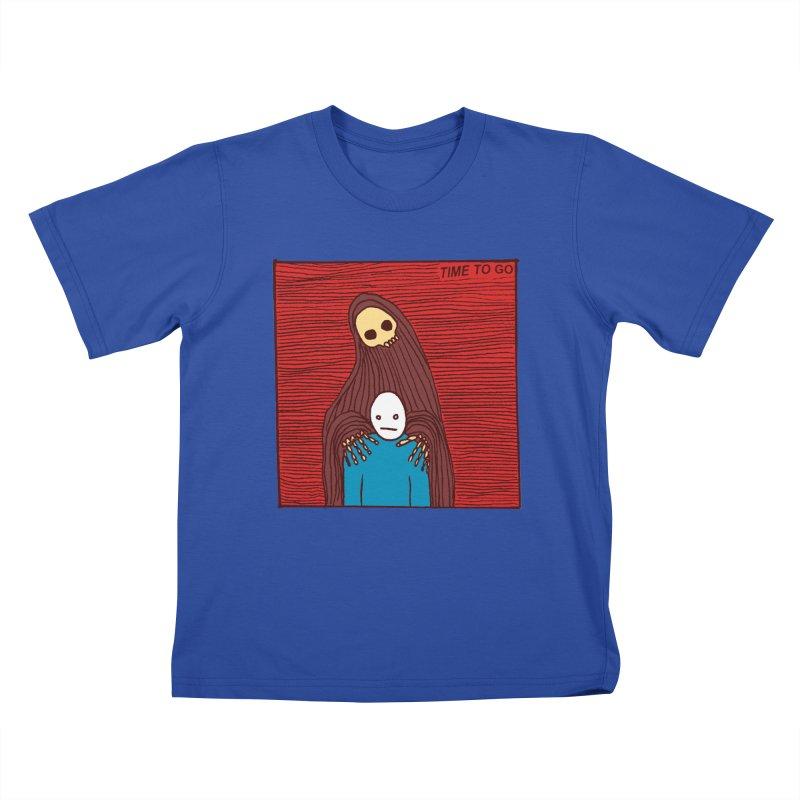 Time to go Kids T-Shirt by alexcortez's Artist Shop