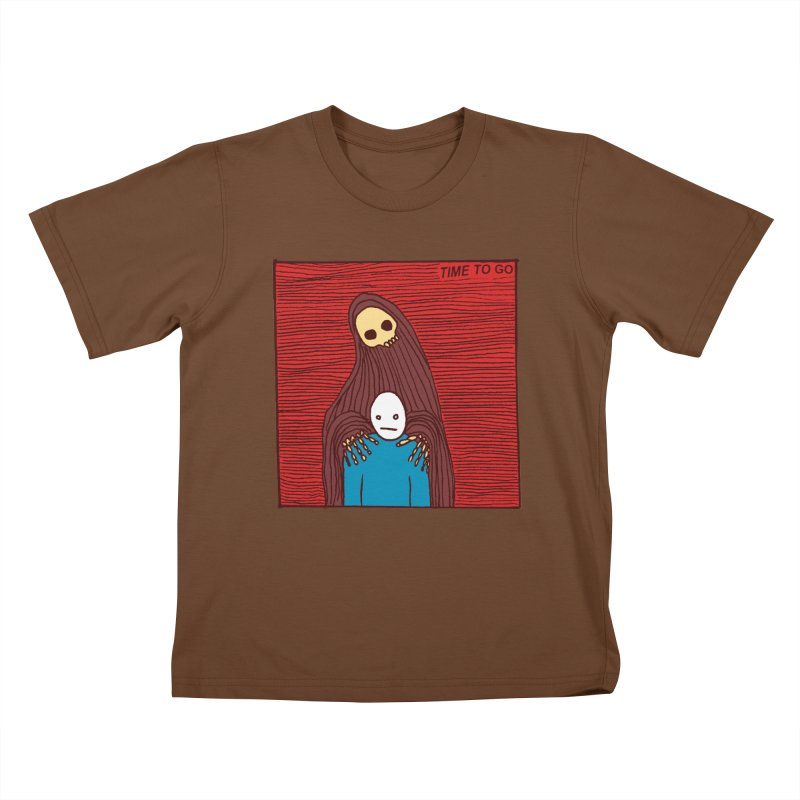 Time to go Kids T-shirt by alexcortez's Artist Shop