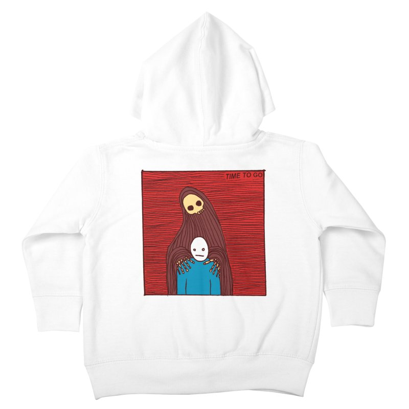 Time to go Kids Toddler Zip-Up Hoody by alexcortez's Artist Shop