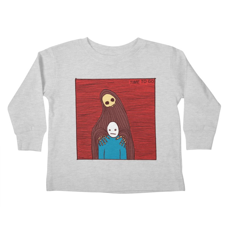 Time to go Kids Toddler Longsleeve T-Shirt by alexcortez's Artist Shop