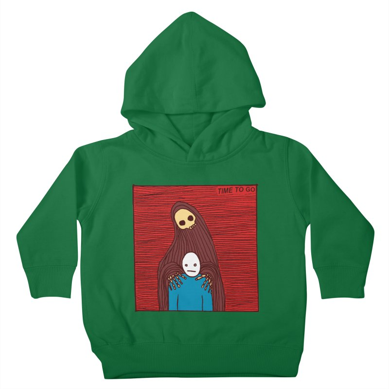Time to go Kids Toddler Pullover Hoody by alexcortez's Artist Shop