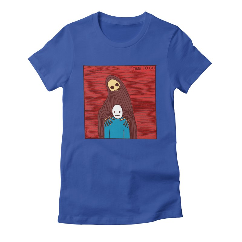 Time to go Women's Fitted T-Shirt by alexcortez's Artist Shop