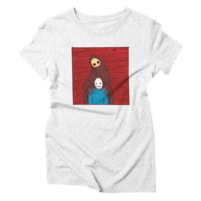 Time to go Women's Triblend T-shirt by alexcortez's Artist Shop