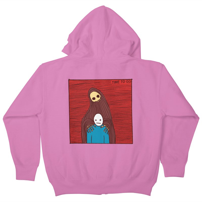 Time to go Kids Zip-Up Hoody by alexcortez's Artist Shop