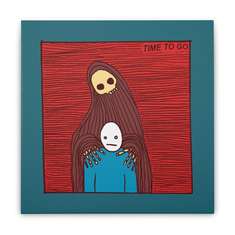 Time to go Home Stretched Canvas by alexcortez's Artist Shop
