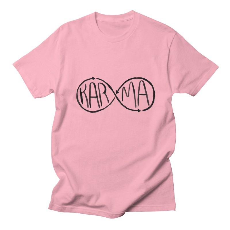 Karma Men's T-Shirt by alexcortez's Artist Shop