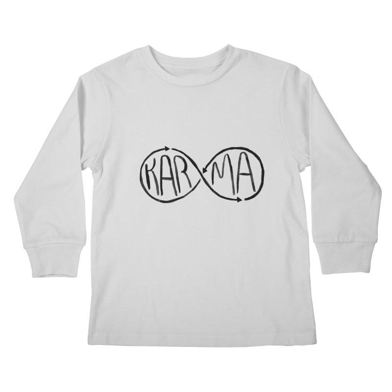 Karma Kids Longsleeve T-Shirt by alexcortez's Artist Shop