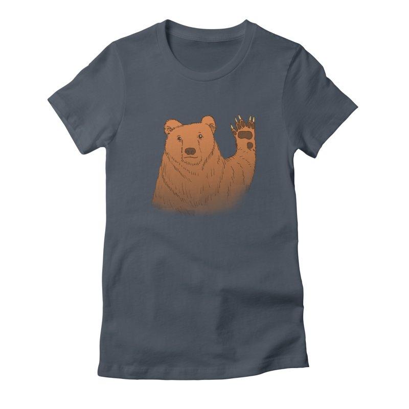 Star trek fan Women's Fitted T-Shirt by alexcortez's Artist Shop
