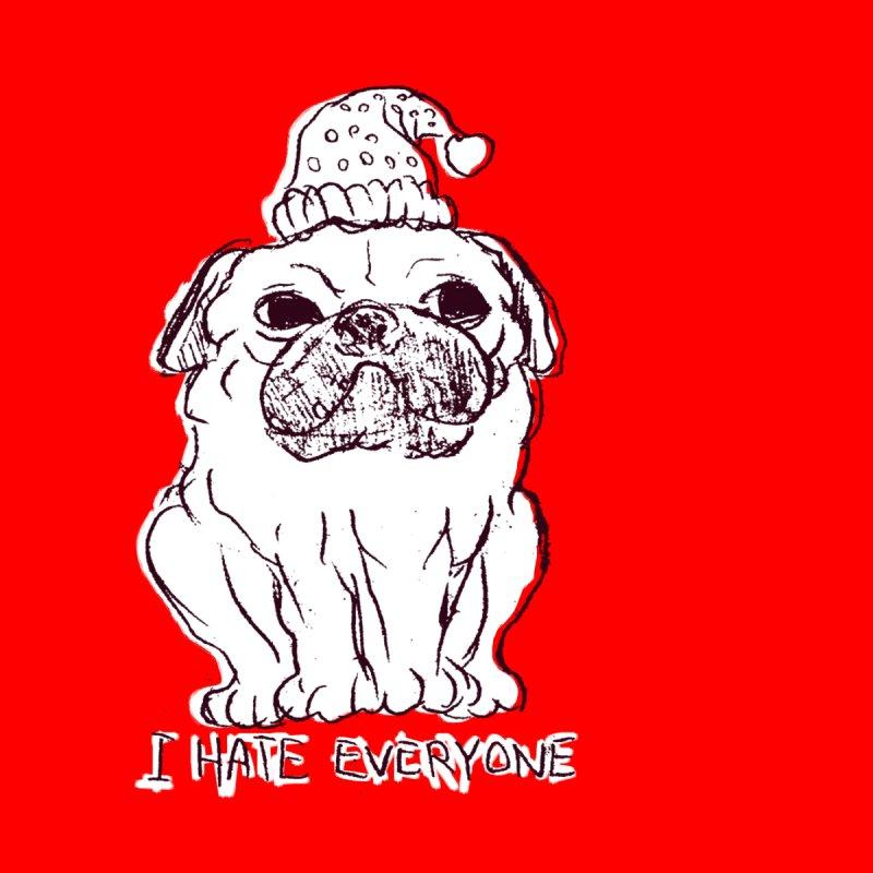 Happy Pug None  by alexcortez's Artist Shop