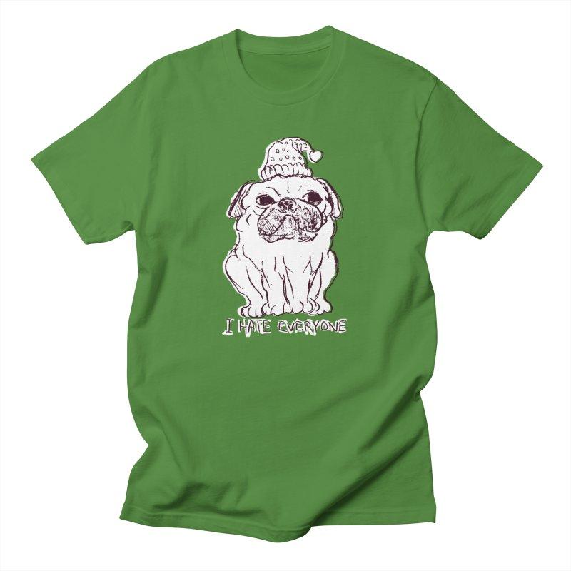 Happy Pug Men's T-Shirt by alexcortez's Artist Shop