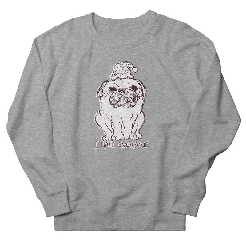 Happy Pug Women's Sweatshirt by alexcortez's Artist Shop