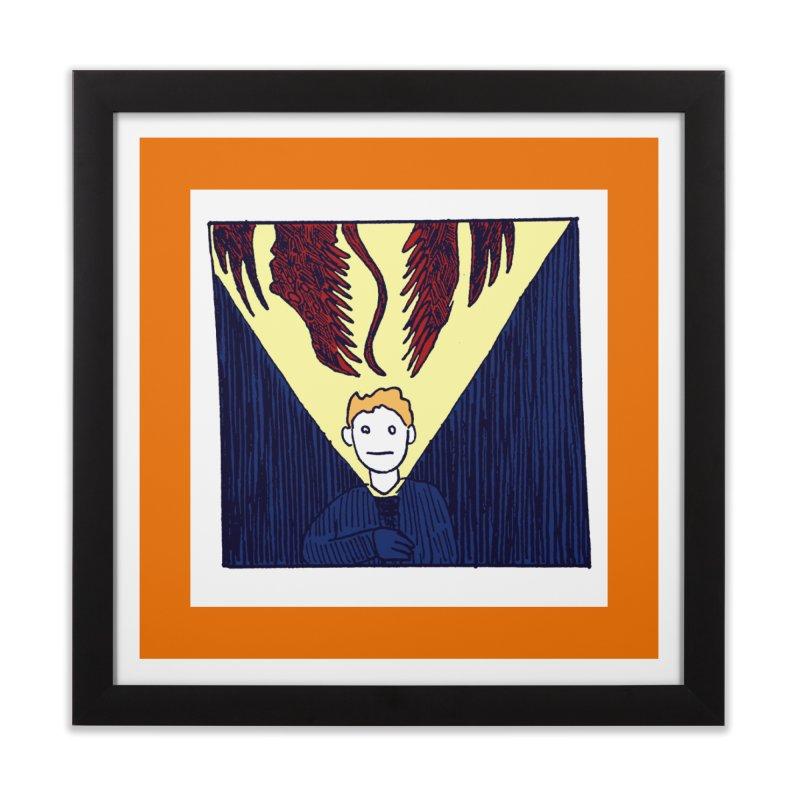 In the dark Home Framed Fine Art Print by alexcortez's Artist Shop
