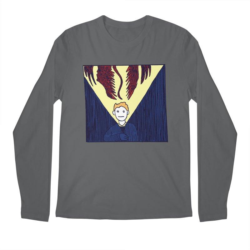 In the dark Men's Longsleeve T-Shirt by alexcortez's Artist Shop
