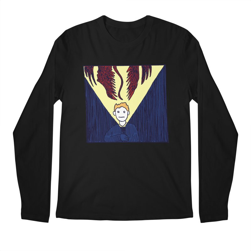 In the dark Men's Longsleeve T-Shirt by alexcortez's Artist Shop