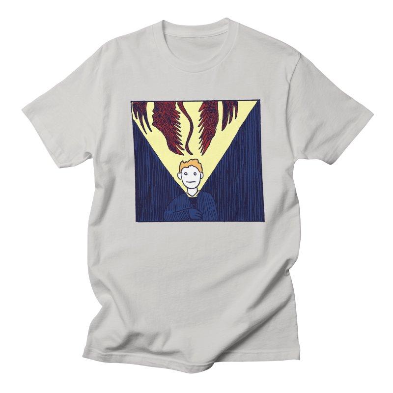 In the dark Men's T-Shirt by alexcortez's Artist Shop