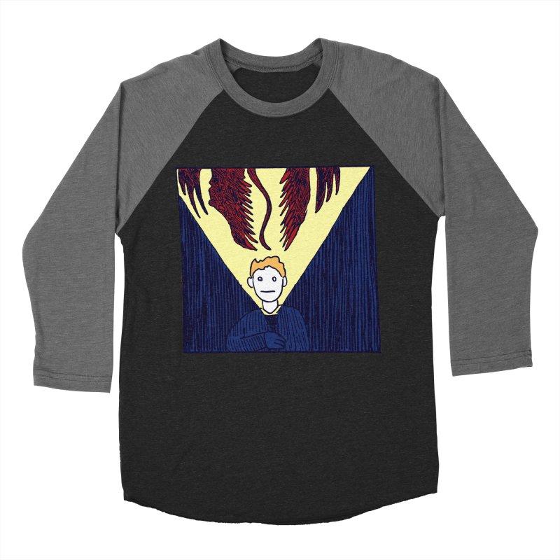 In the dark Women's Baseball Triblend T-Shirt by alexcortez's Artist Shop