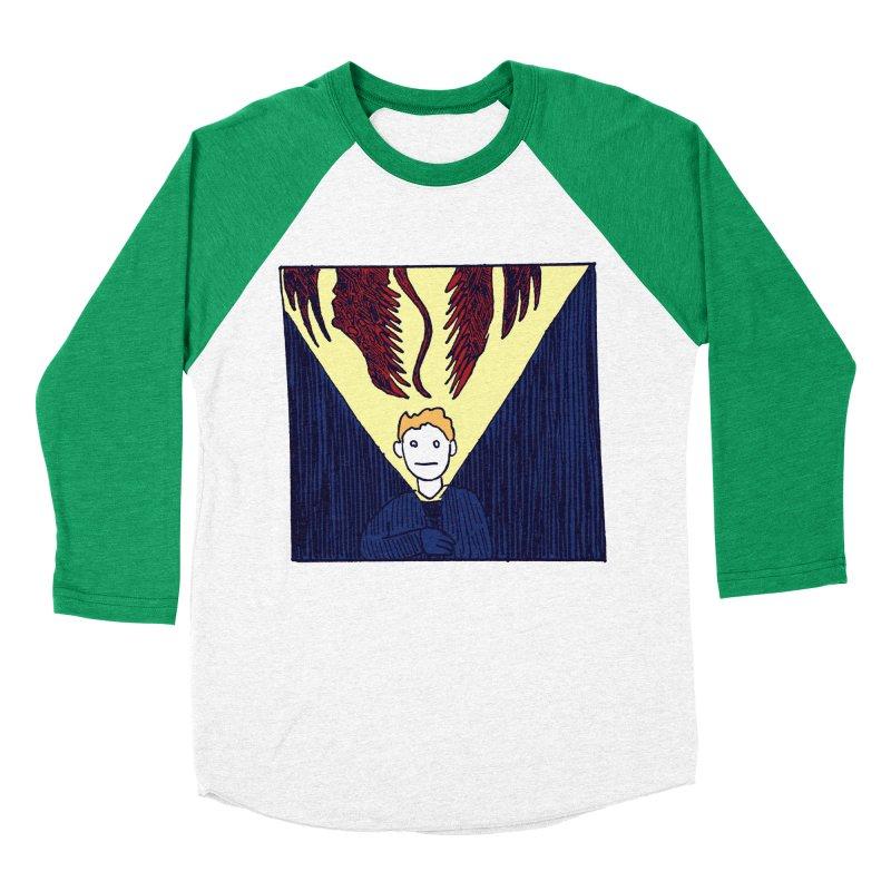 In the dark Men's Baseball Triblend T-Shirt by alexcortez's Artist Shop