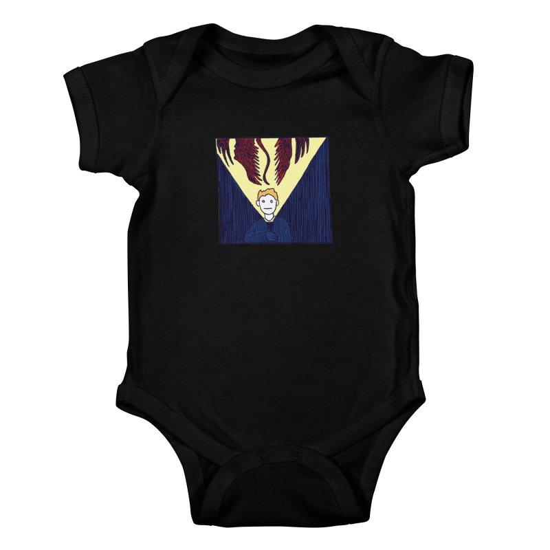 In the dark Kids Baby Bodysuit by alexcortez's Artist Shop