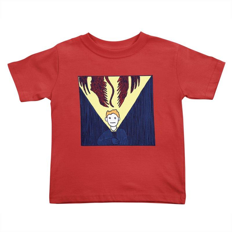 In the dark Kids Toddler T-Shirt by alexcortez's Artist Shop