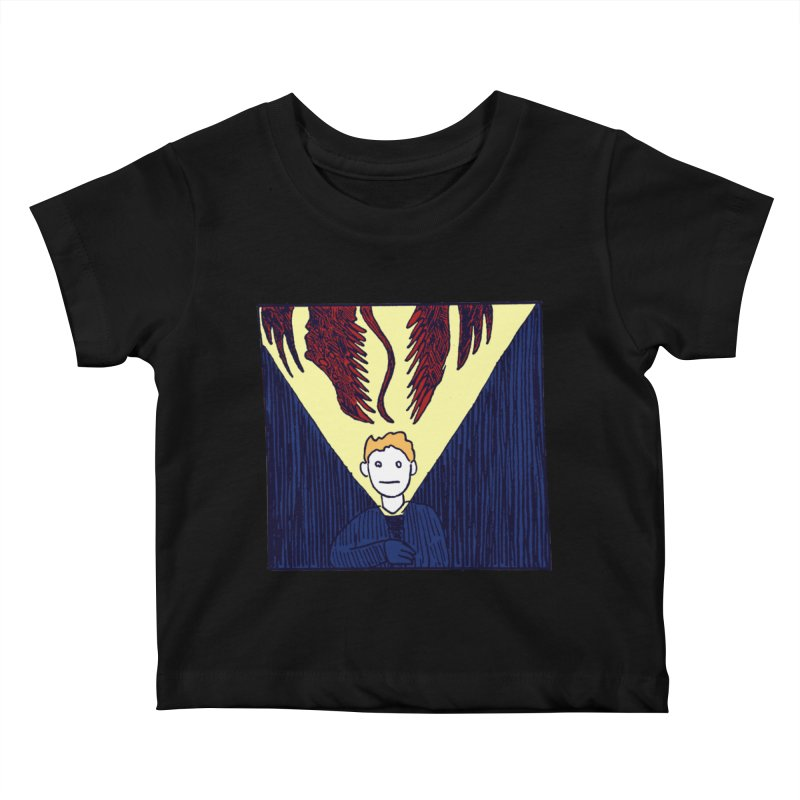 In the dark Kids Baby T-Shirt by alexcortez's Artist Shop