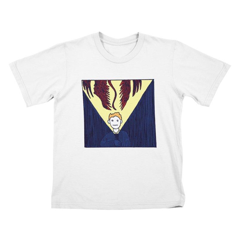 In the dark Kids T-Shirt by alexcortez's Artist Shop