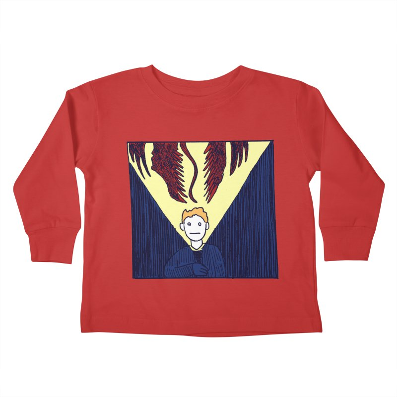 In the dark Kids Toddler Longsleeve T-Shirt by alexcortez's Artist Shop