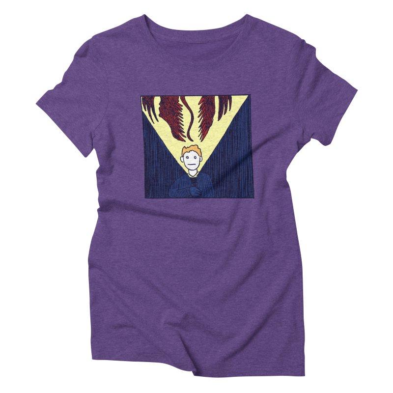 In the dark Women's Triblend T-Shirt by alexcortez's Artist Shop
