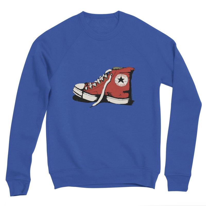 Conversation Red Men's Sweatshirt by Alex's Shop