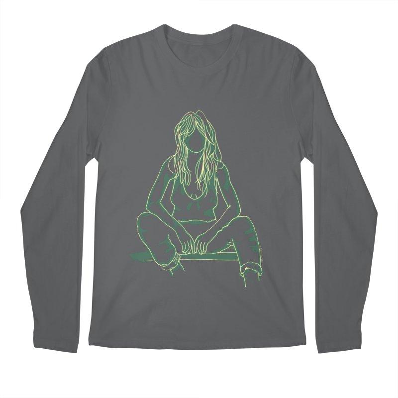 Dakota Green Men's Longsleeve T-Shirt by Alex's Shop