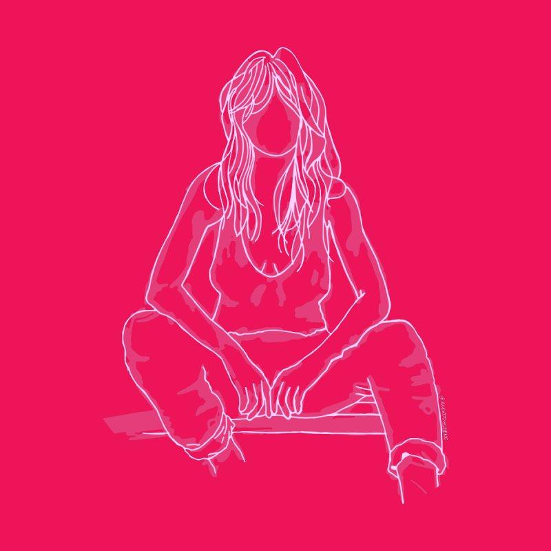 Dakota Pink Men's Longsleeve T-Shirt by Alex's Shop