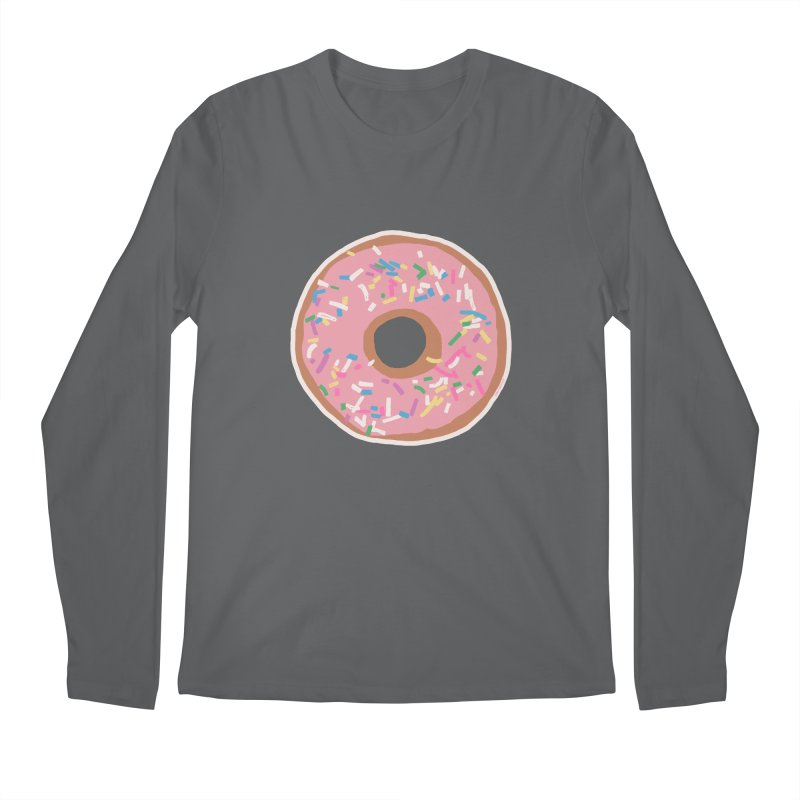 Donut Men's Longsleeve T-Shirt by Alex's Shop