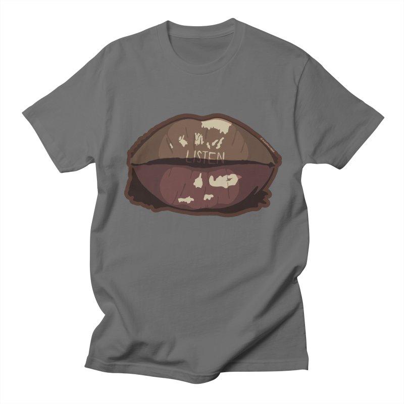 Listen Men's T-Shirt by Alex's Shop