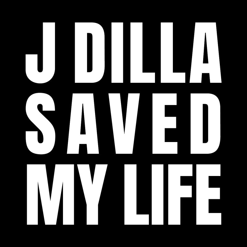 J Dilla Saved My Life Reverse Home Rug by Alex's Shop