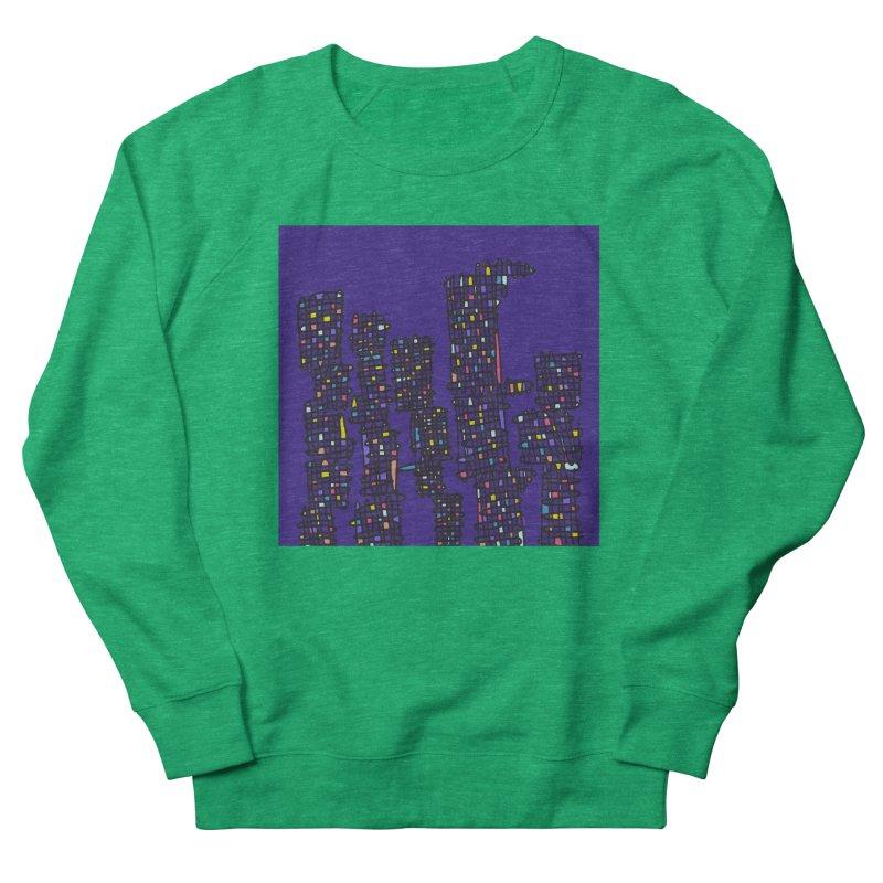 Glass Towers Women's Sweatshirt by Alex's Shop