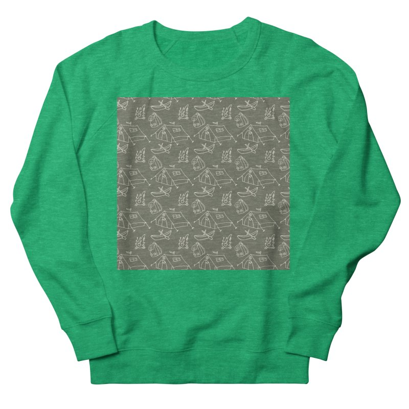 Camping Women's Sweatshirt by Alex's Shop