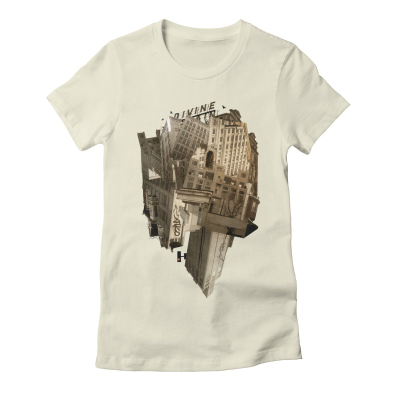 Divine Women's Fitted T-Shirt by Alex Eckman-Lawn