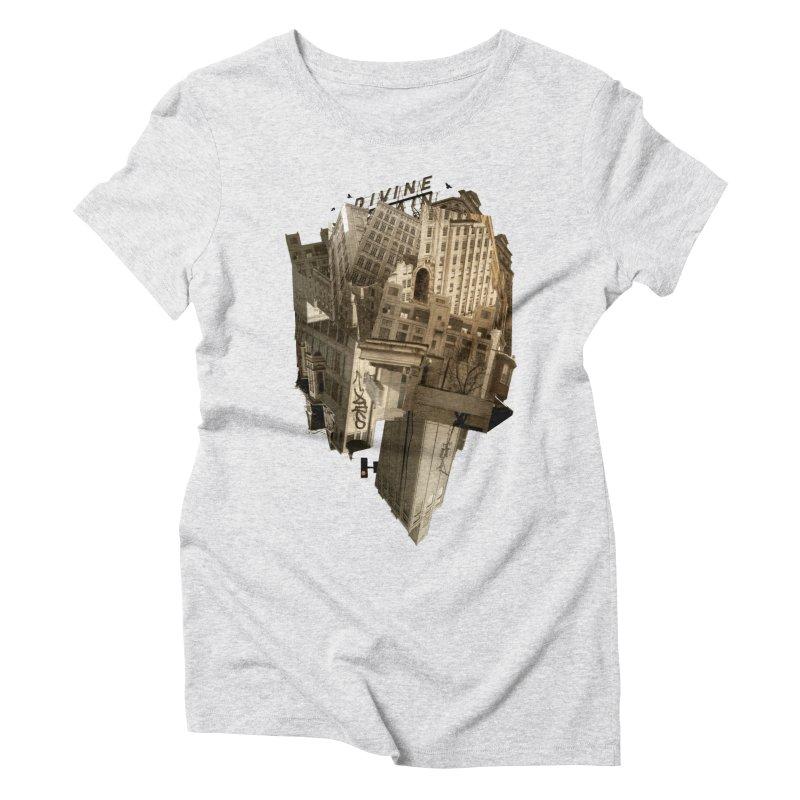 Divine Women's Triblend T-shirt by Alex Eckman-Lawn